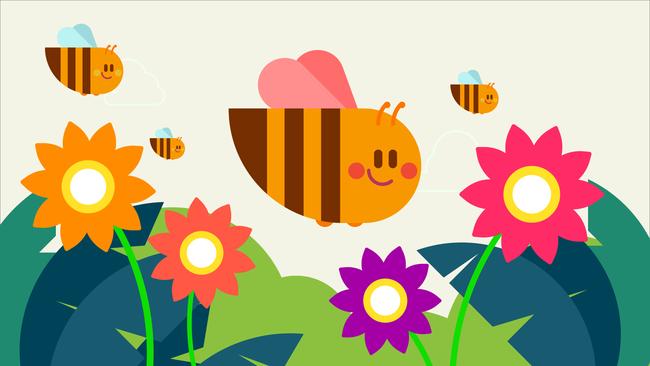 النحلة التي أرادت أن تصبح مثل الفراشة