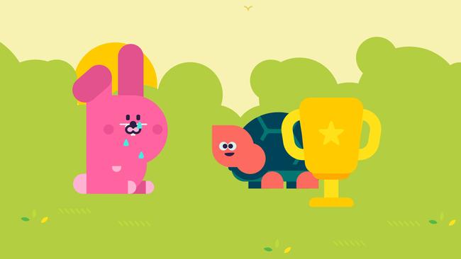 الأرنب و السلحفاة